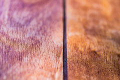 Closeup of wooden desk background Stock Photography
