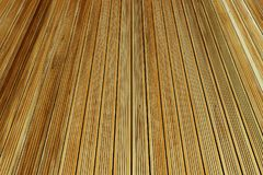 Floor boards. Closeup of wooden floor boards Stock Images