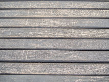 Closeup of  wooden horizontal lines pattern Royalty Free Stock Image
