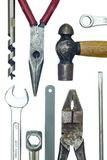 Closeup of work tools Stock Photo