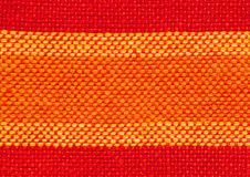Closeup of woven cloth Stock Image