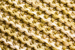 Closeup of a Woven Pattern Stock Photography