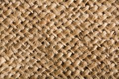 Closeup of woven sisal fibers Stock Image