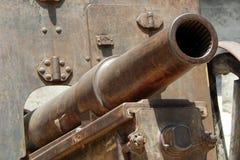 Closeup of 400 year old canon Stock Photos