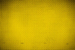 Closeup of yellow mesh with vignetting Stock Photography