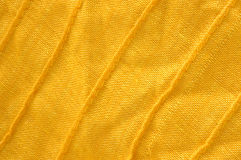 Closeup of yellow organic cotton Royalty Free Stock Photos