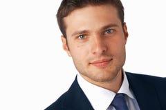Closeup Of Young Businessman. stock image