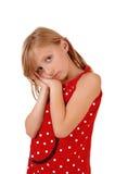 Closeup of young girl. Stock Photography