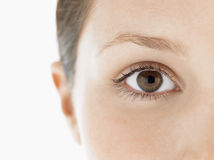 Closeup Of Young Woman's Eye Royalty Free Stock Photo