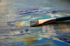 Closeupbakgrund av paletten Royaltyfria Bilder
