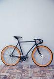 Closeupbild av en cykel royaltyfri bild