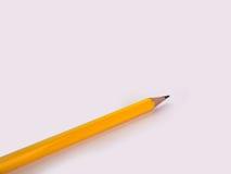Closeupblyertspenna som är pålagd en vit bakgrund Royaltyfria Foton