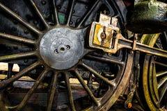 Closeupdrevhjul Fotografering för Bildbyråer