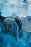 Kunna i is fotografering för bildbyråer