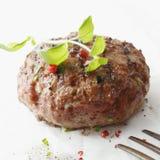 Smaklig kryddad meatball Arkivbild