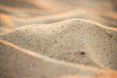 Closeupen av sander av öknen, stänger sig upp bakgrund för siktsökensander royaltyfri fotografi
