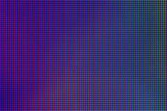 Closeupen LEDDE dioden för ljuskulan från datorbildskärmskärmen Arkivfoton