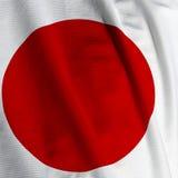 closeupflaggajapan Royaltyfria Bilder