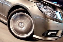 closeupframhjul arkivfoto