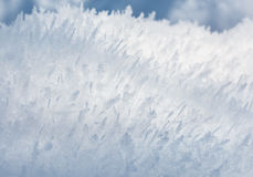 Closeupfrostbakgrund Royaltyfri Fotografi