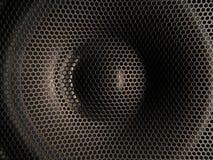 closeuphögtalare Fotografering för Bildbyråer