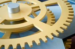 closeupkugghjul fotografering för bildbyråer