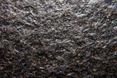 Closeupmörkergranit Fotografering för Bildbyråer