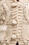 Closeupsikt av abstrakt begrepp stucken modelltextur Royaltyfri Bild