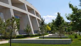 Closeupsikt av ATF-högkvarter, Washington DC Arkivfoto