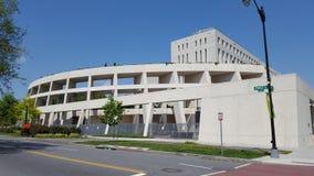 Closeupsikt av ATF-högkvarter, Washington DC Arkivfoton