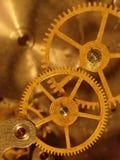 Closeupsikt av den gammala mekanismen. Arkivbild