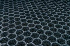 Closeupsikt på kolluftfiltret för HVAC-teknologi arkivbild