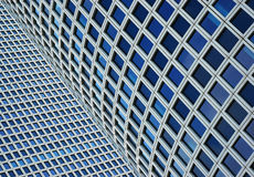 closeupskyskrapor två Royaltyfria Bilder