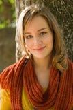 Closeupstående av ungt blont. royaltyfria bilder