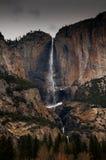 closeupvattenfall Arkivfoto