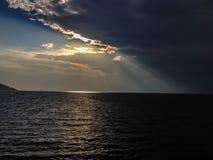 Closing de la oscuridad Imagenes de archivo