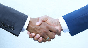 Closing deal - Shaking hands royalty free stock photos