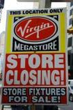 Closing della memoria del Virgin immagine stock libera da diritti