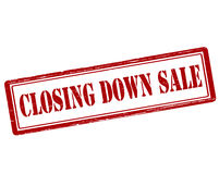 Closing down sale Stock Photography