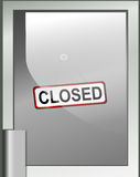 Closing time. Royalty Free Stock Image
