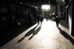 Closing time at Borough Market stock images