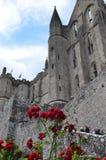 Closter de San Miguel en Normandía (Francia) Imagen de archivo libre de regalías