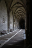 The closters are the most outstanding element of the the Cathedr Royalty Free Stock Images
