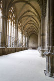 The closters are the most outstanding element of the the Cathedr Royalty Free Stock Image