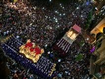 Closure brotherhood of Gypsies. Saint week in malaga closure brotherhood of Gypsies Royalty Free Stock Image