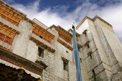 Closure look at Leh Palace Stock Images