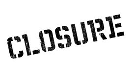 Closure stamp rubber grunge Stock Images