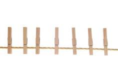 Clotespin Stock Photo