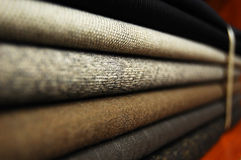Cloth. A pile of colorful cloth for clothes making Royalty Free Stock Photography