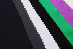Cloth. Colorful cloth for clothes making Royalty Free Stock Images